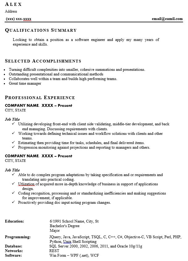 signs of resume and we fixed it examples work history example should you follow up after Resume Bad Work History Resume
