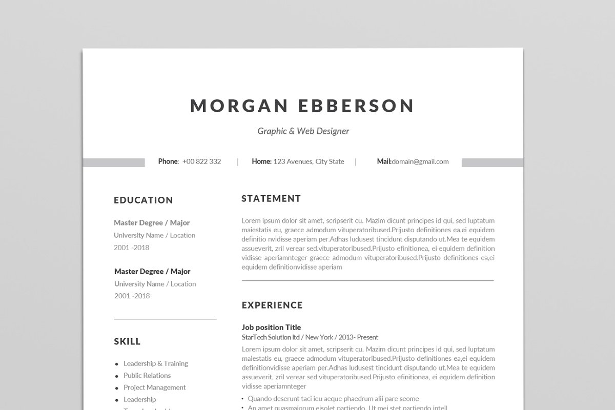 single resume template addictionary for freshers staggering sample rezoom informatica Resume Single Page Resume Template For Freshers
