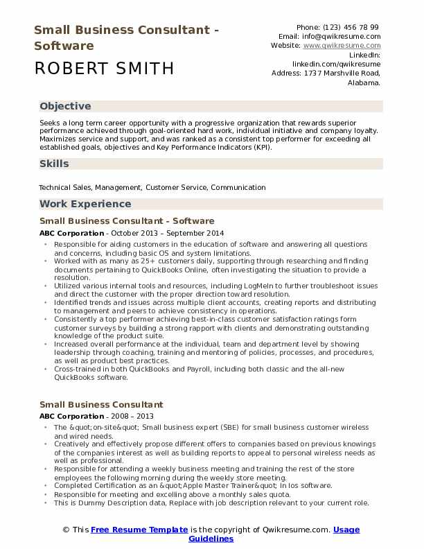 small business consultant resume samples qwikresume sample pdf professional writers cost Resume Small Business Resume Sample