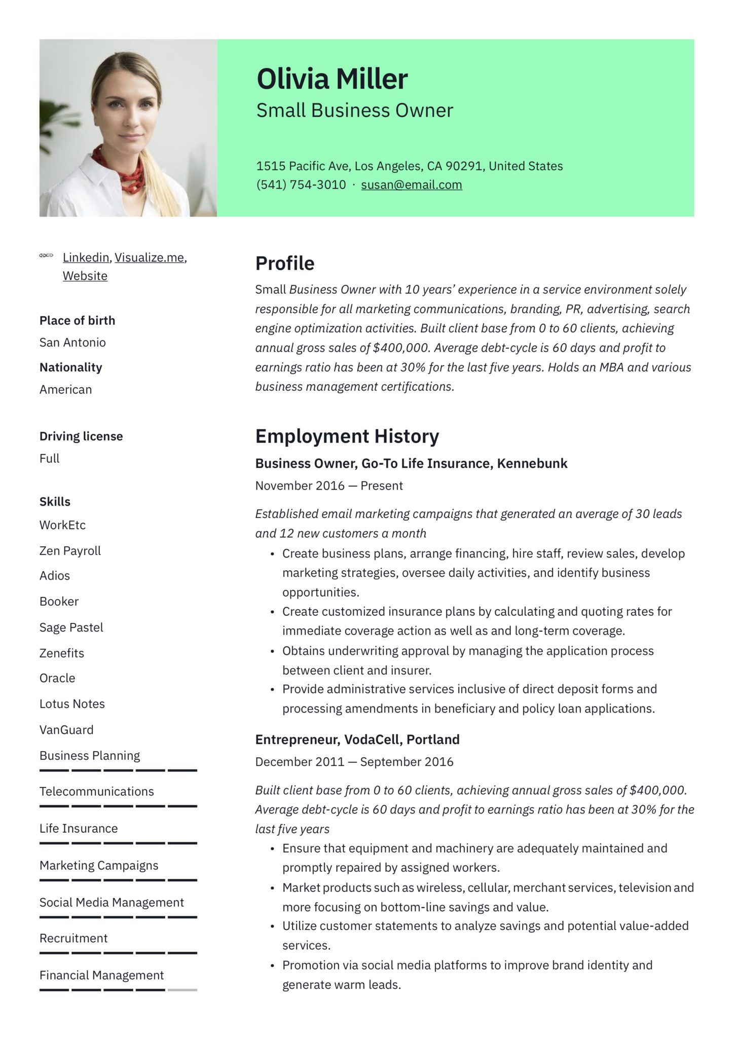 small business owner resume guide examples pdf for owning your own example scaled now Resume Resume For Owning Your Own Business