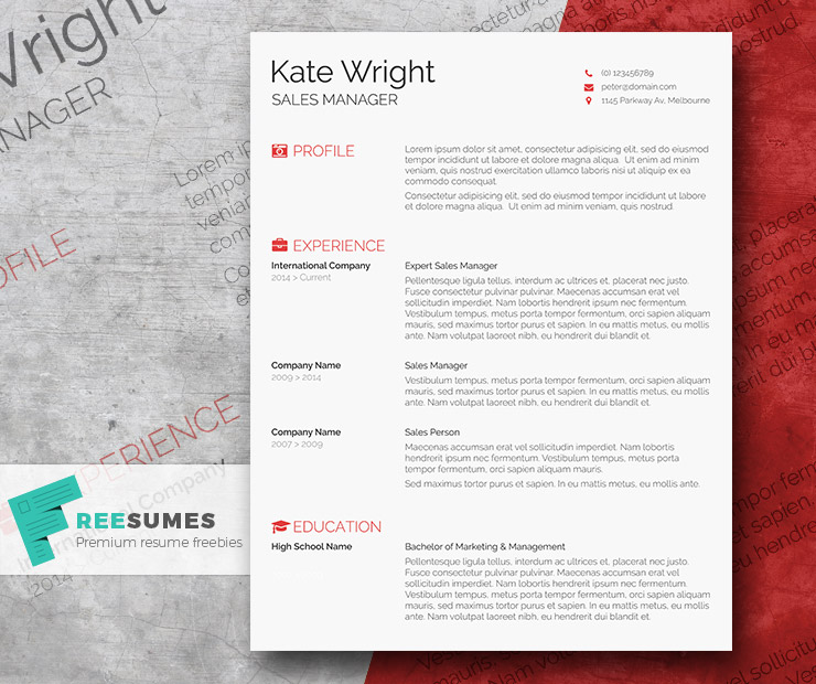 smart freebie word resume template the minimalist freesumes elegant design email body for Resume Minimalist Word Resume Template