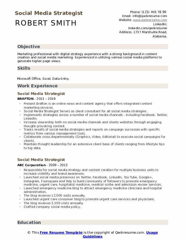 social media strategist resume samples qwikresume pdf certified medical assistant job Resume Social Media Strategist Resume