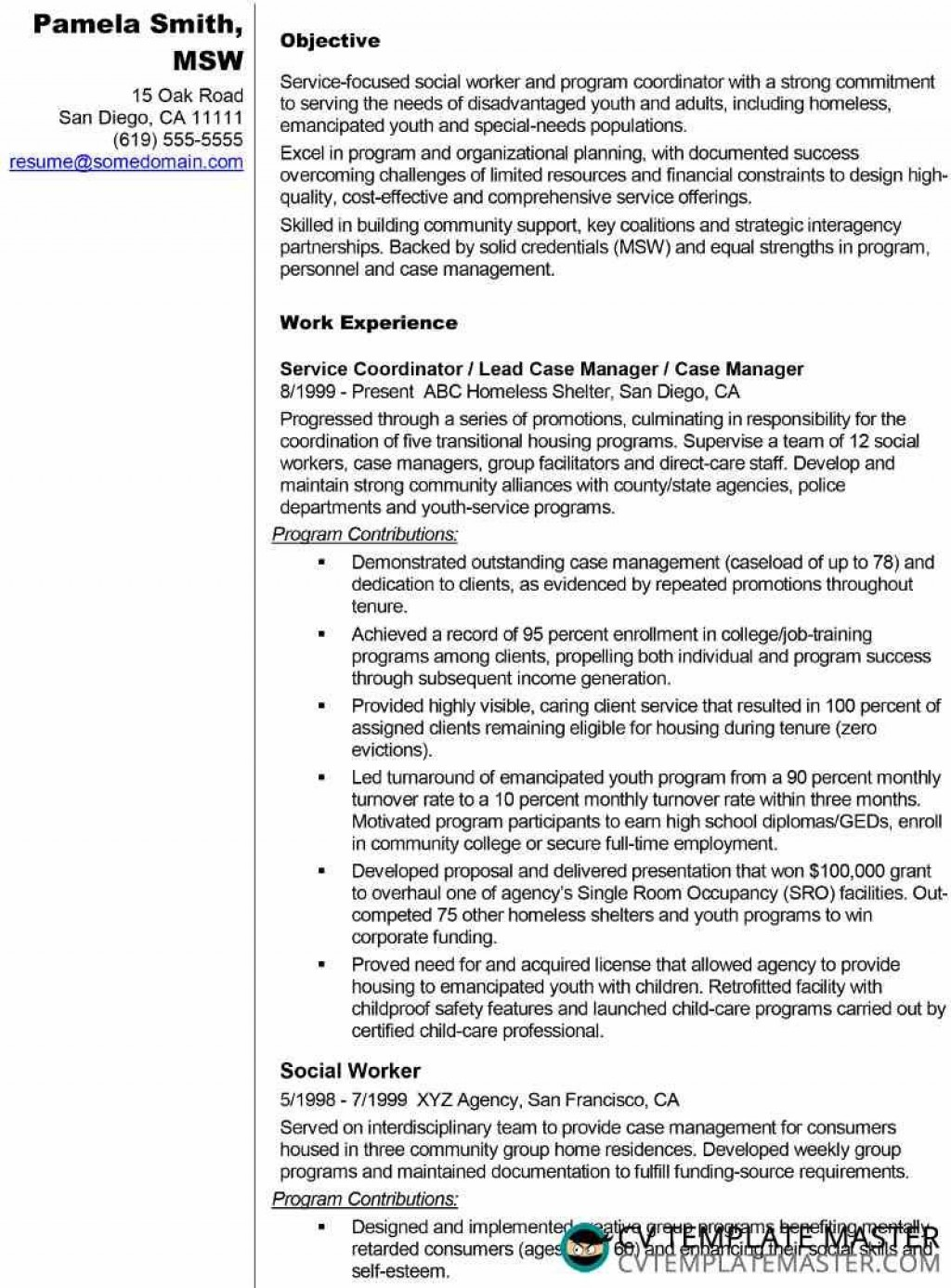 social worker resume templates addictionary sample simple ideas free builder iphone staff Resume Social Worker Resume Sample Templates