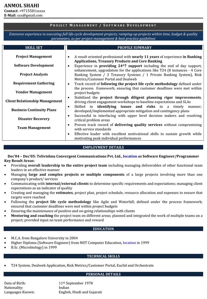 software developer resume samples sample for naukri format sdlc psych nurse best fox Resume Software Developer Resume Format