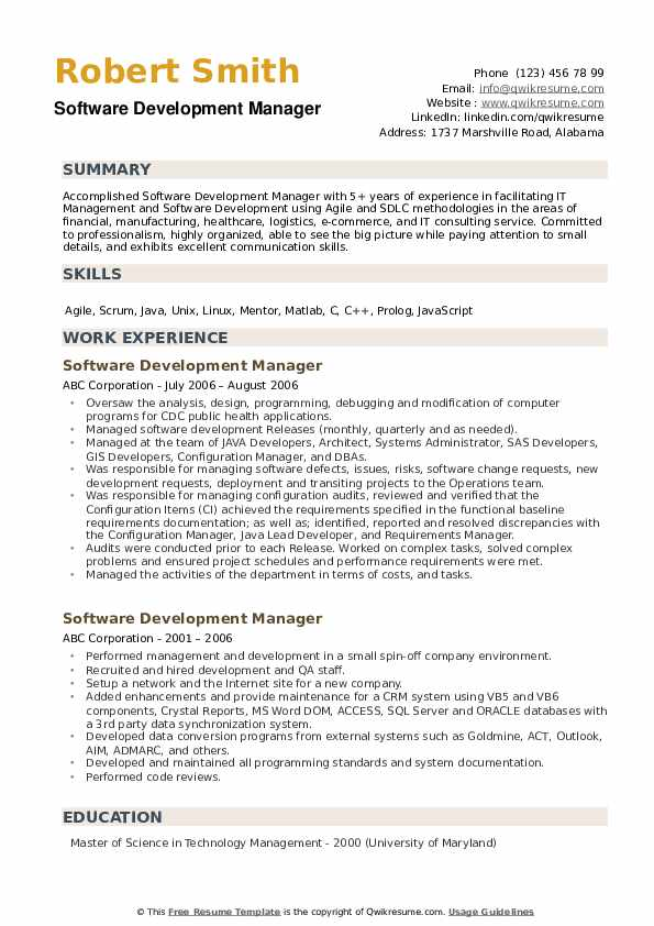 software development manager resume samples qwikresume summary pdf entry level customer Resume Software Development Manager Resume Summary