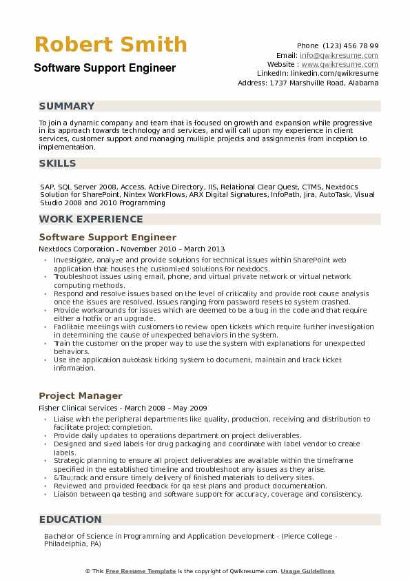 software support engineer resume samples qwikresume technical service pdf the best format Resume Technical Service Engineer Resume