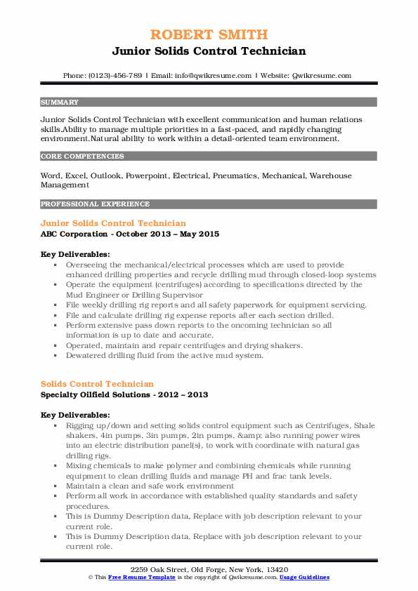 solids control technician resume samples qwikresume pdf procedure prostate maker from Resume Solids Control Technician Resume