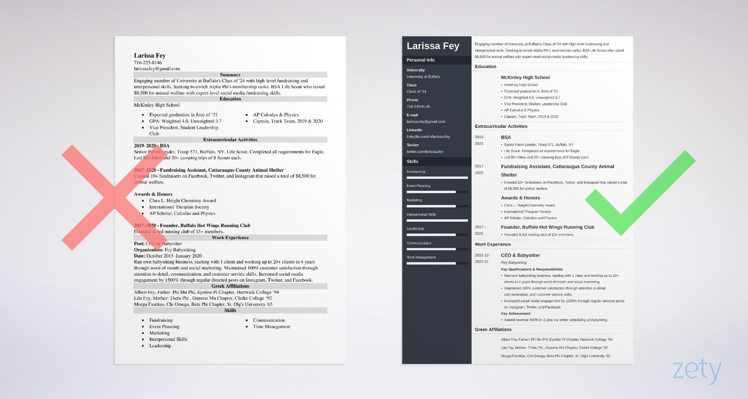 sorority resume template free examples and builder social example baseball coach referral Resume Sorority Social Resume Template