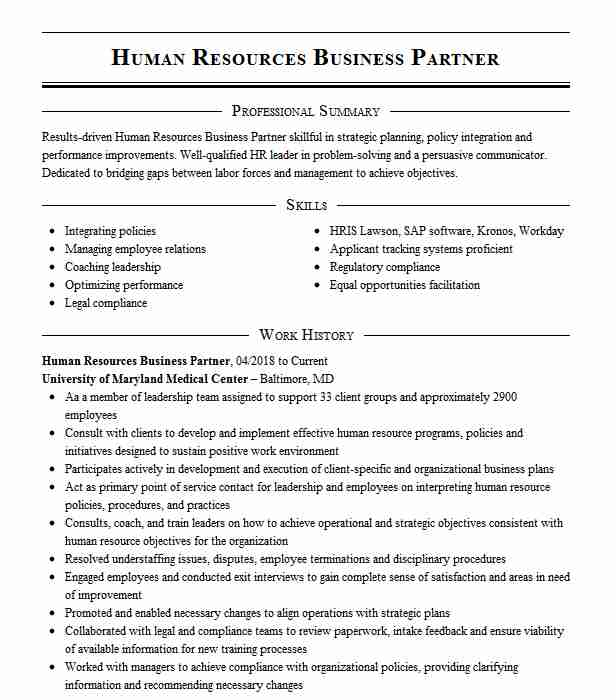 sr human resources business partner resume example the boeing company renton hcc coder Resume Human Resources Business Partner Resume