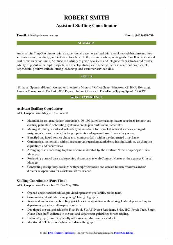 staffing coordinator resume samples qwikresume cover letter pdf educational templates for Resume Staffing Coordinator Resume Cover Letter