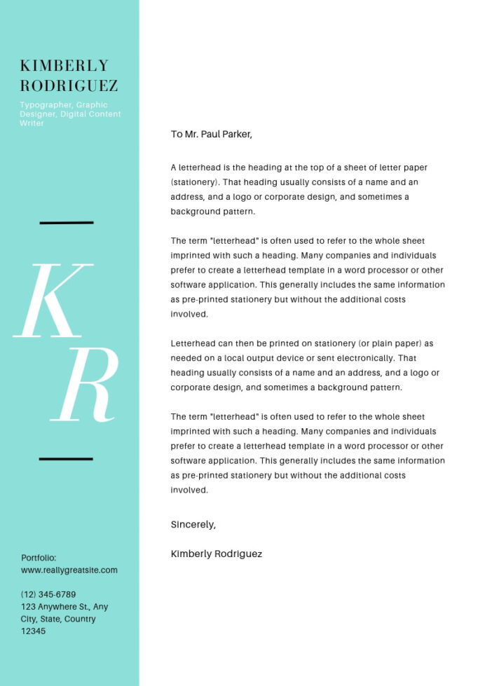 steps to help you land your dream job or internship canva resume cover letter turquoise Resume Canva Resume Cover Letter