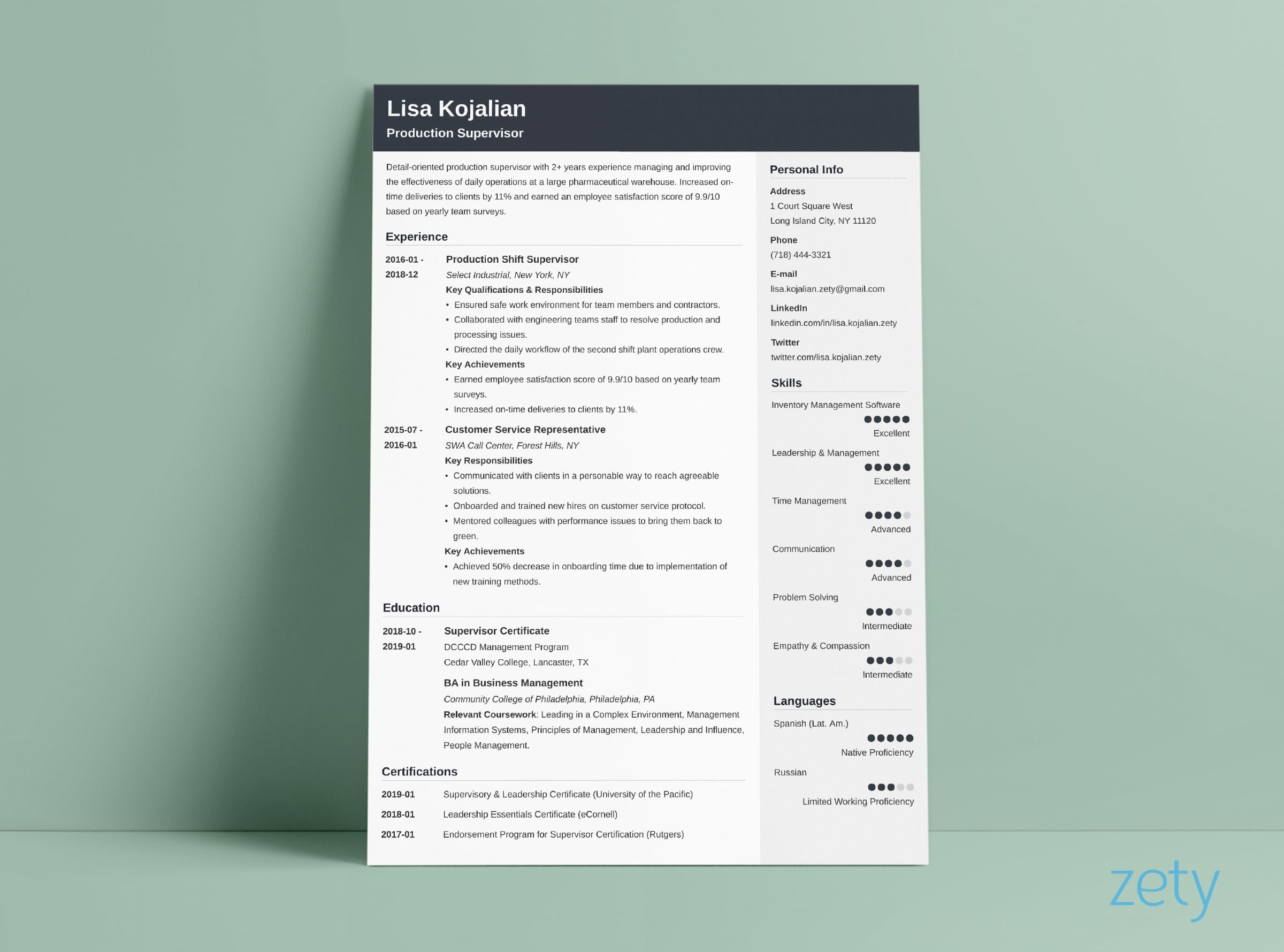 student resume cv templates to now zety template cubic employment and career readiness Resume Zety Resume Template Download