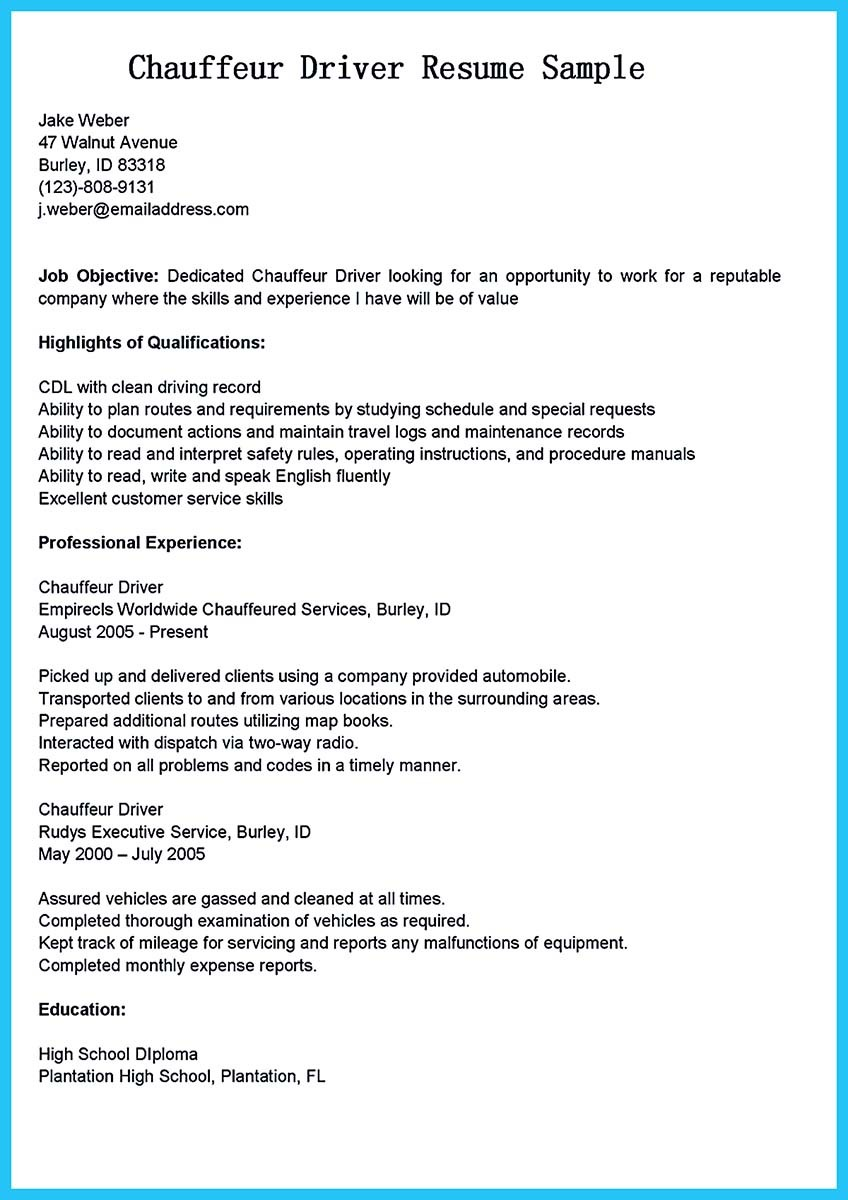 stunning bus driver resume to gain the serious job ambulette transit and tour same Resume Ambulette Driver Resume