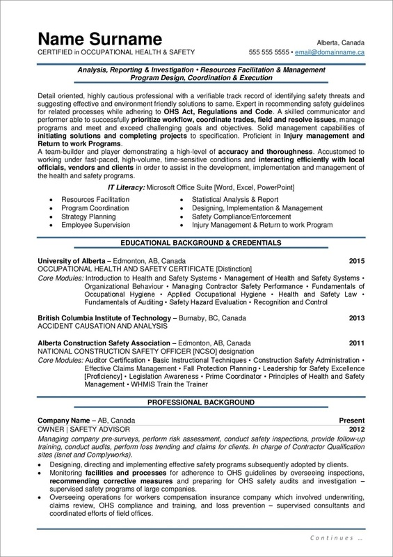 style resume in document format orig dod security specialist administrative support Resume Canadian Style Resume Format