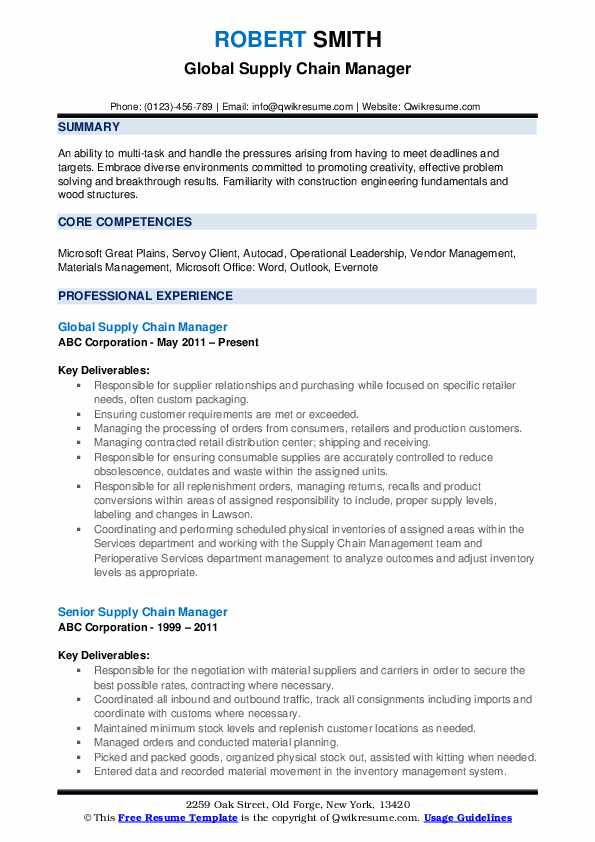 supply chain manager resume samples qwikresume skills for pdf training coordinator review Resume Supply Chain Skills For Resume