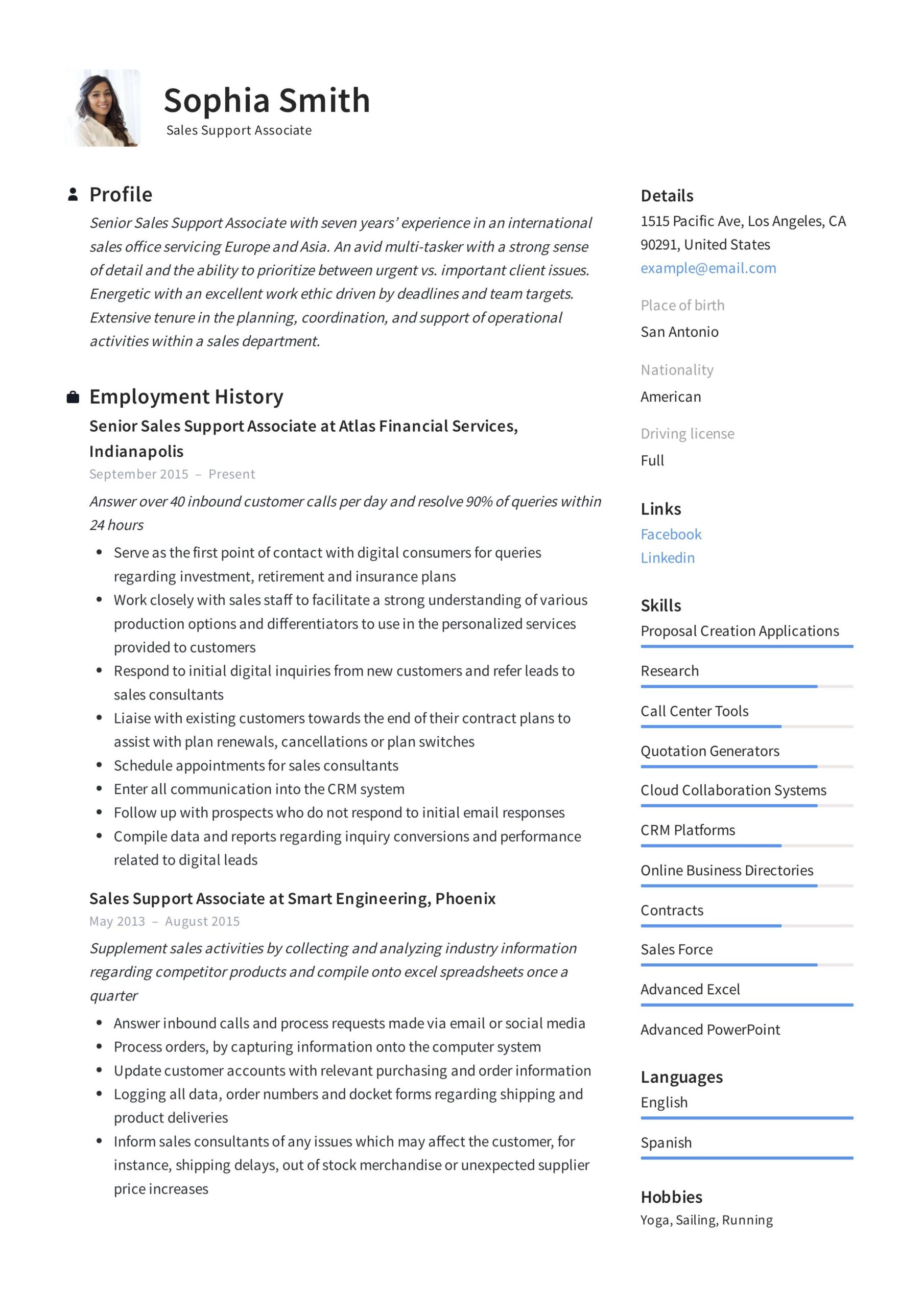 support associate resume template in guide examples writing business development react Resume Business Development Associate Resume