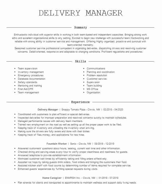 support delivery manager resume example sap inc plainsboro new service business systems Resume Sap Service Delivery Manager Resume