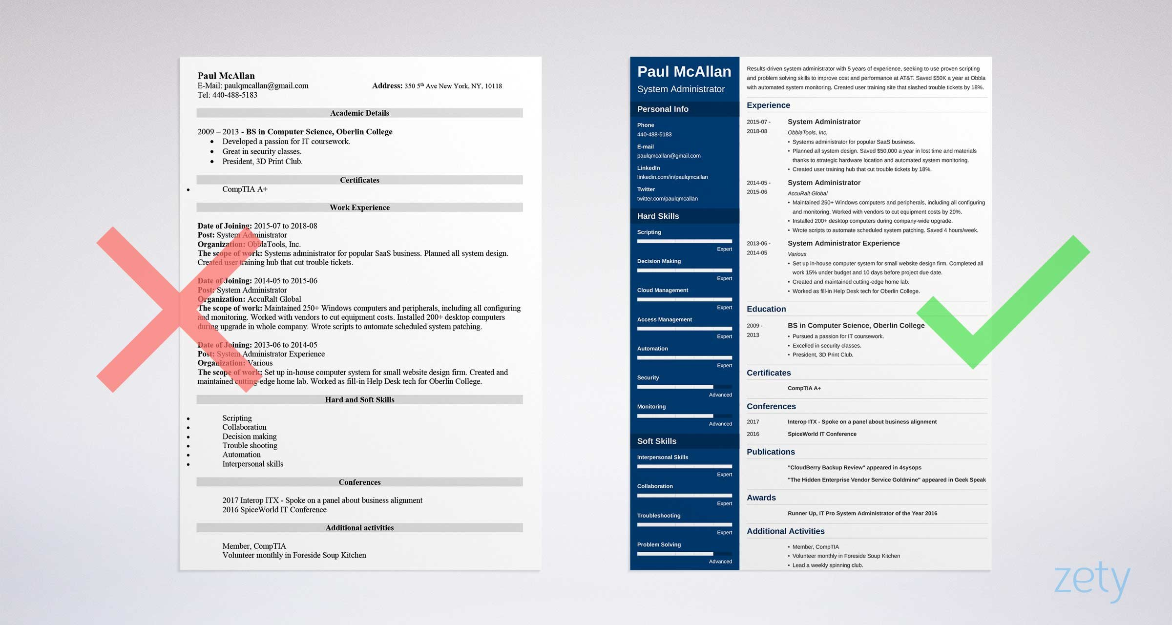 system administrator resume sample windows or linux admin format administrative assistant Resume System Admin Resume Format