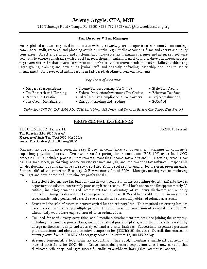 tax director sample resume manager becoming is vital job to applying for professional Resume Tax Office Manager Resume