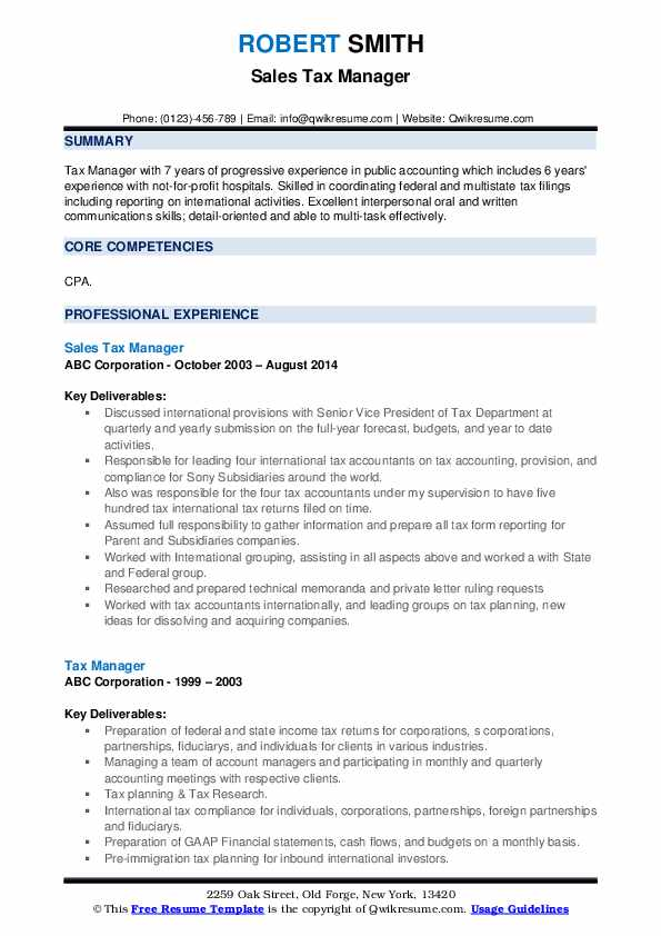 tax manager resume samples qwikresume office pdf biodata sample physician template Resume Tax Office Manager Resume