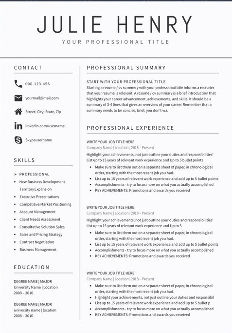 teacher resume sample format templates civil foreman copy of apm accounts receivable Resume Sample Resume 2020 Format