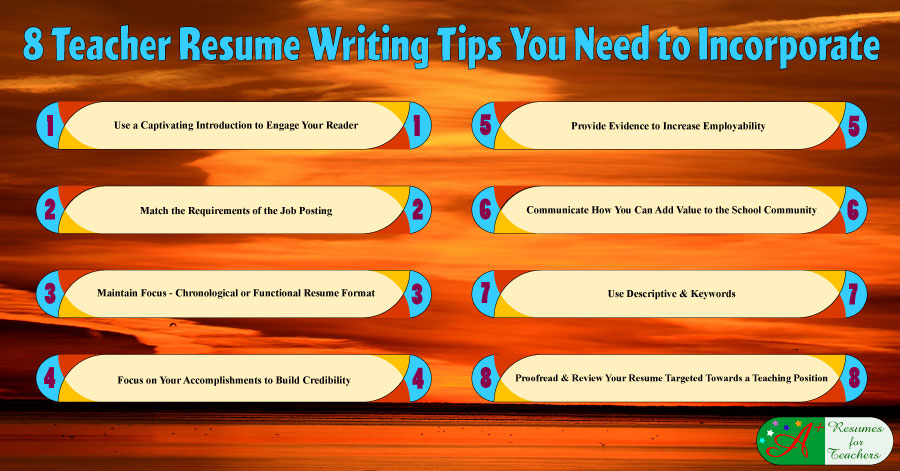 teacher resume writing tips you need to incorporate for students marissa mayer format Resume Resume Writing Tips For Students