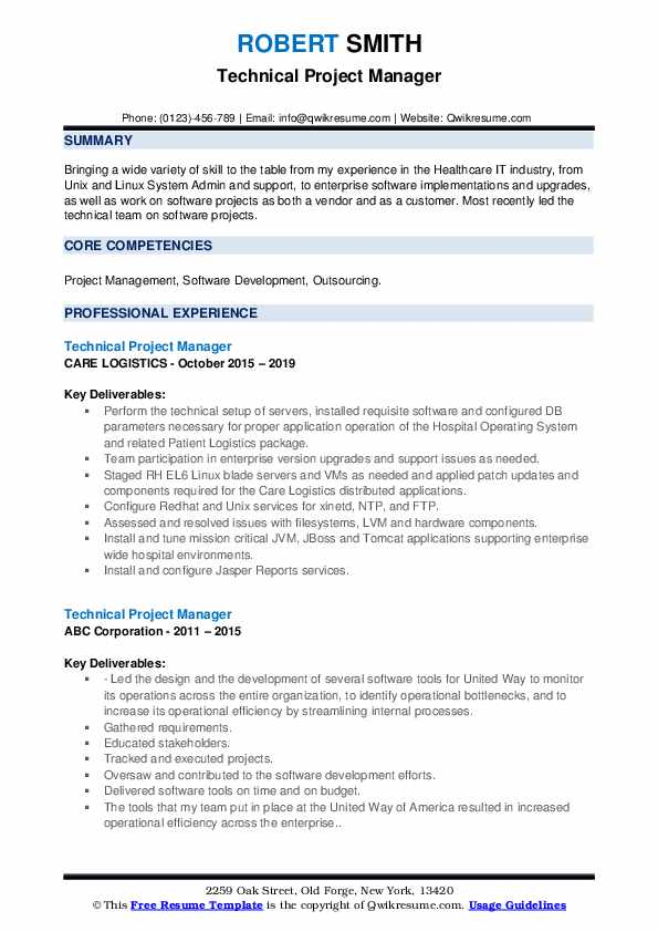 technical project manager resume samples qwikresume program sample pdf ats proof jobs180 Resume Program Manager Resume Sample