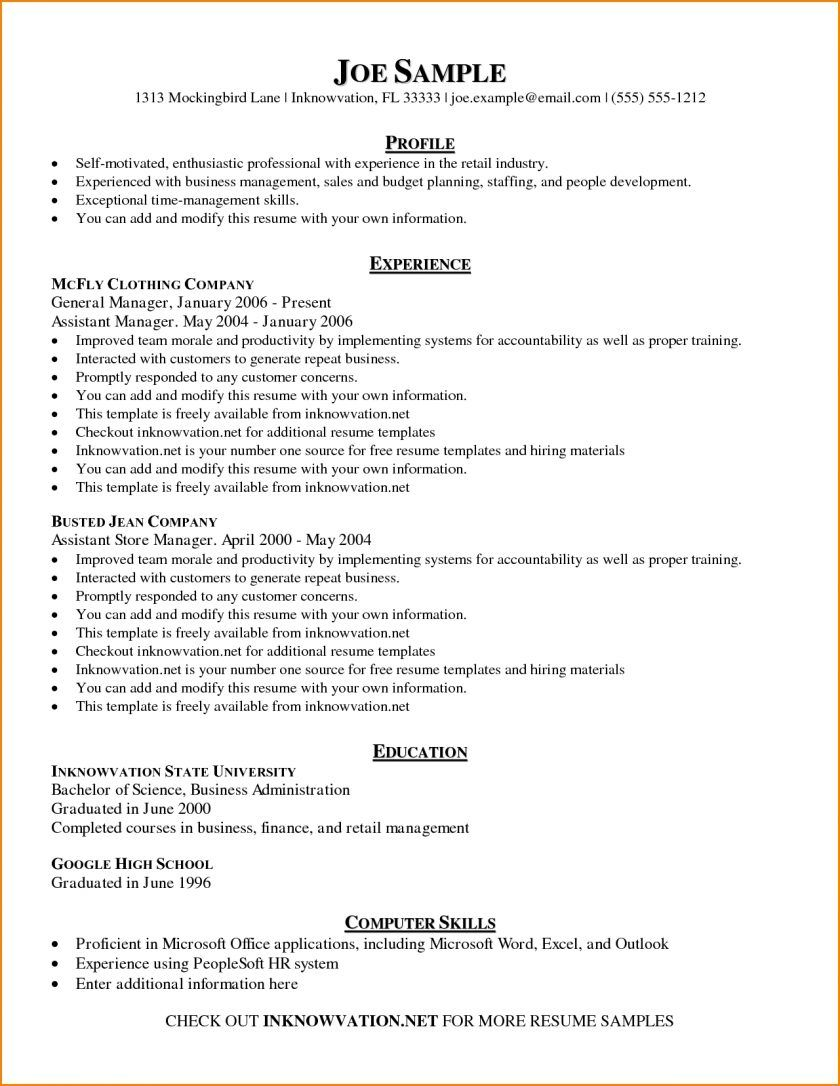 the charming template ideas free basic resume examples skills based in templates micro Resume Self Motivated Resume Sample