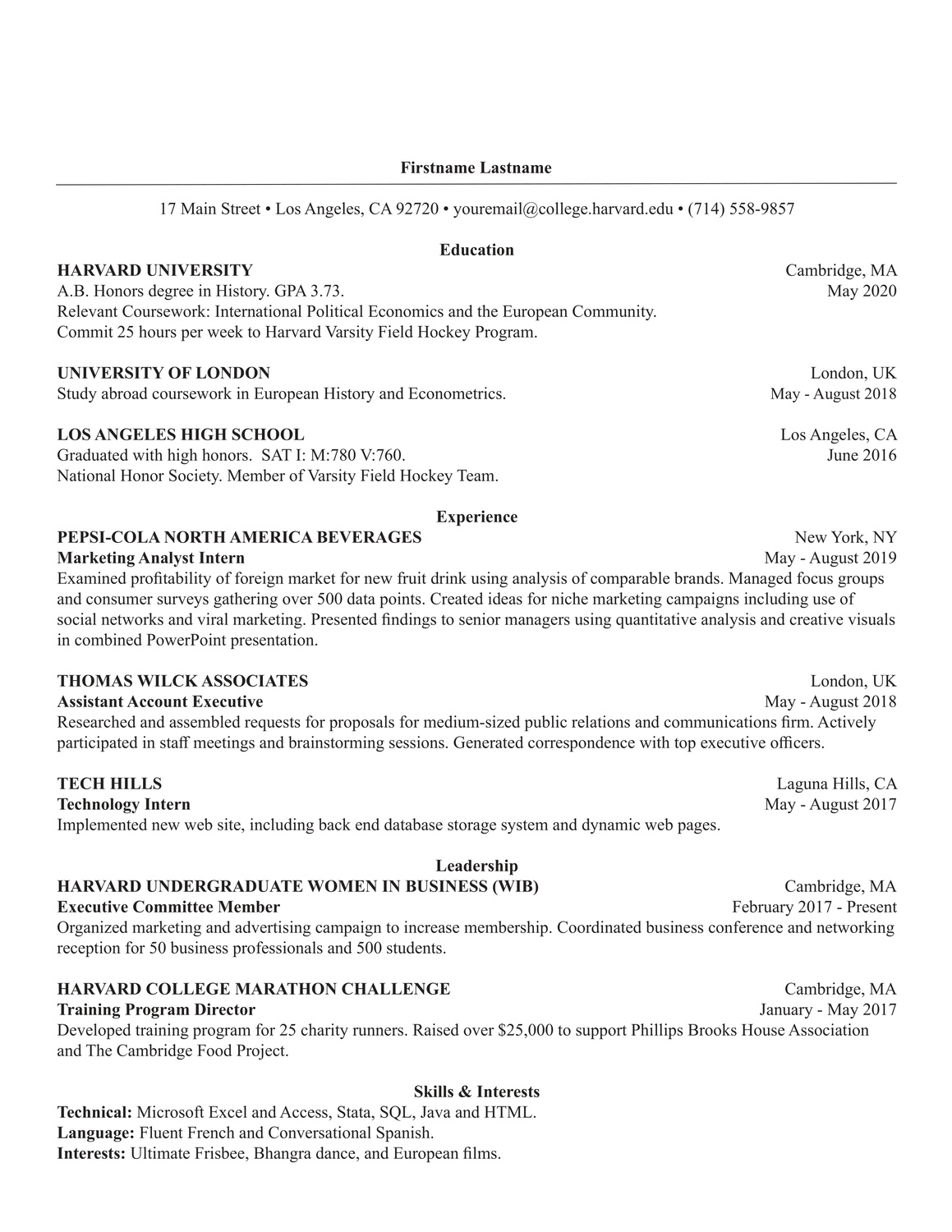 the harvard guide to your job search sponsored crimson brand studio style resume template Resume Harvard Style Resume Template