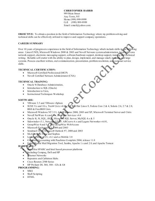 the linux administrator resume sample one in pdf system chemist example leadership Resume System Administrator Resume Sample Download