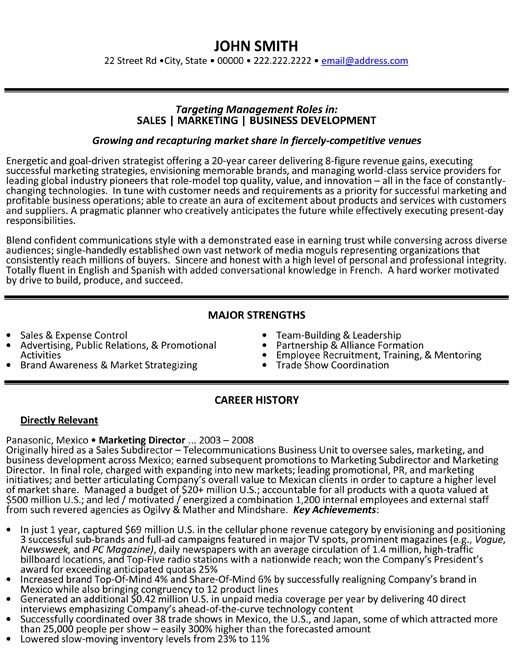 this is professional marketing directors resume looks like want it now project manager Resume Marketing Director Resume Samples