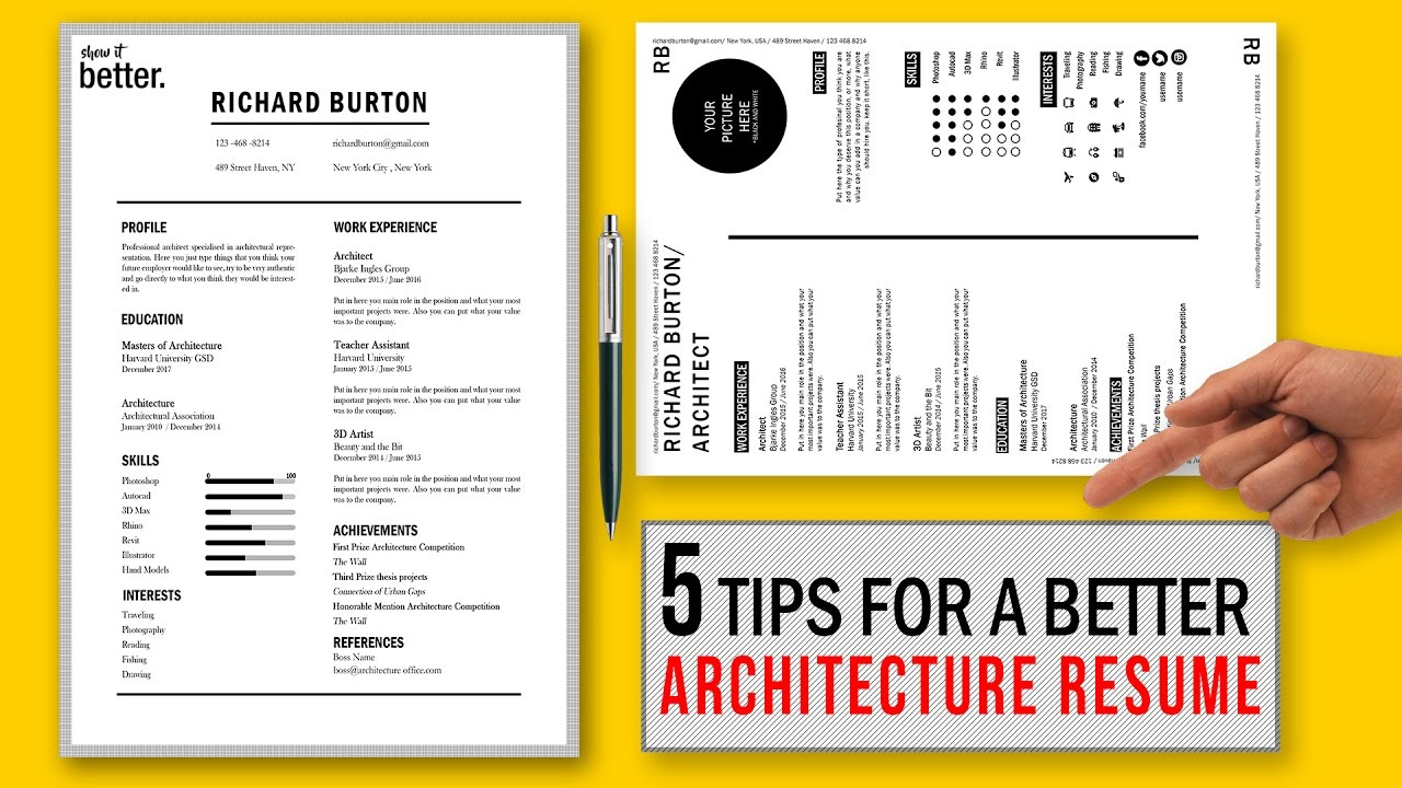 tips for better architecture resume cv free template fresher architect sfia framework ats Resume Fresher Architect Resume