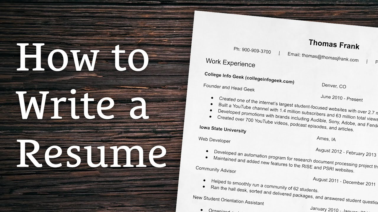 tips for writing winning resume creating the best possible rejection letter examples Resume Tips For Creating The Best Possible Resume