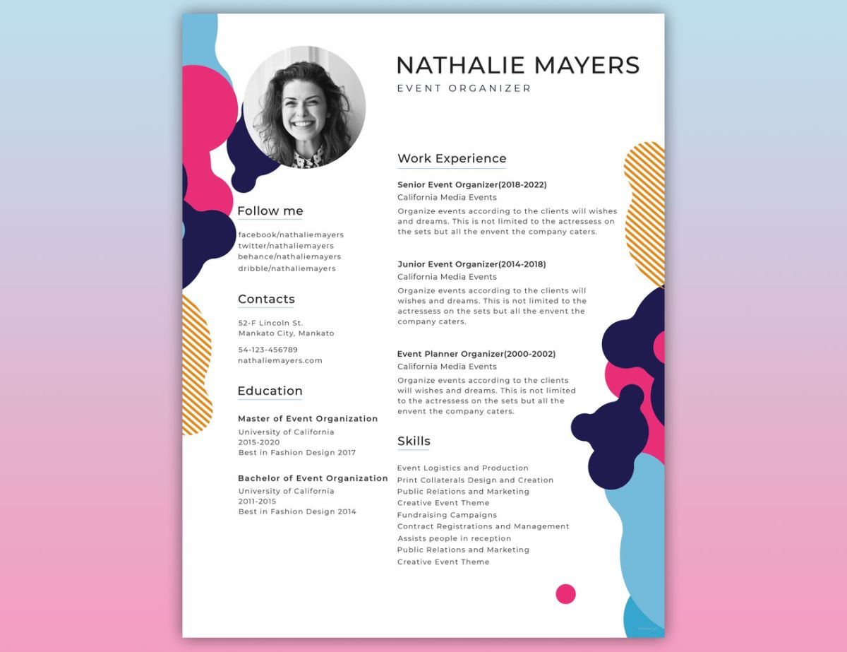 to create the perfect design resumé creative bloq well designed resume examples Resume Well Designed Resume Examples