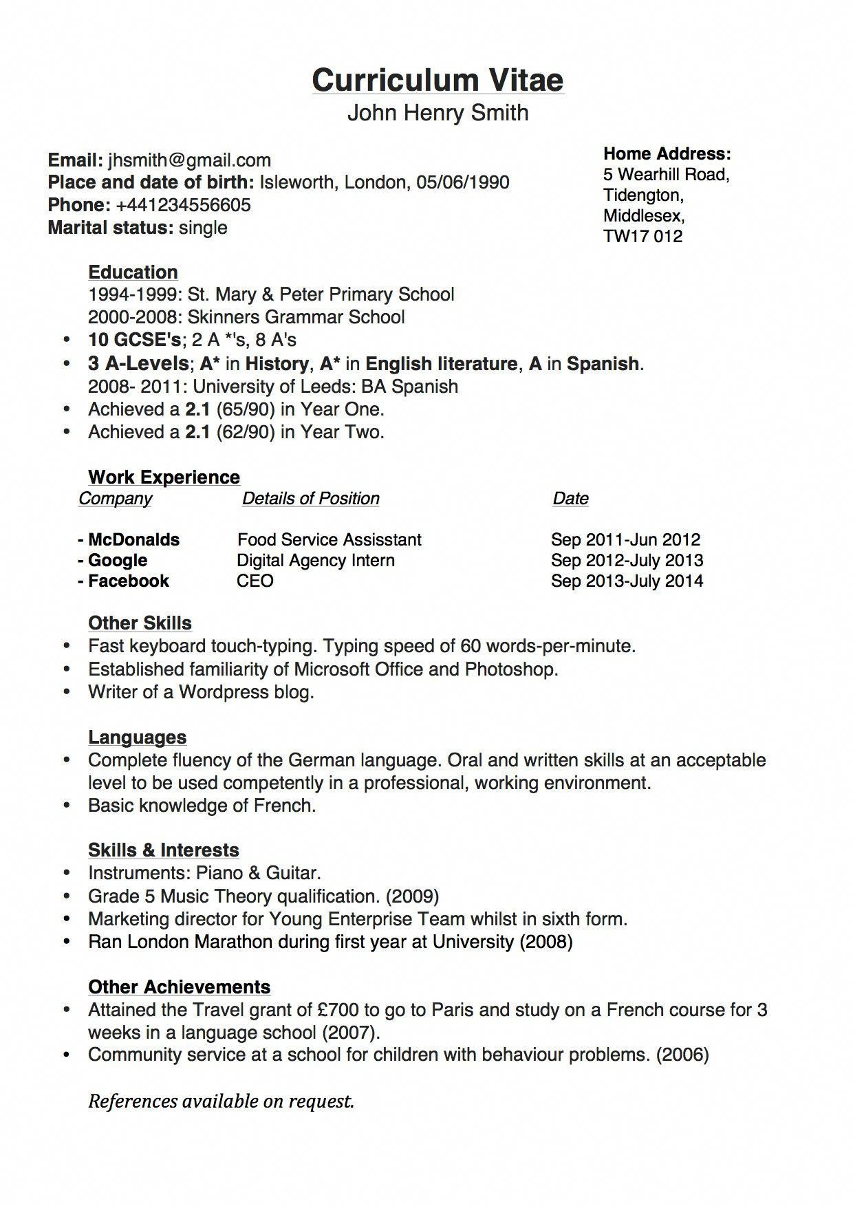 to get into stanford business school curriculum vitae cover letter for resume gsb Resume Stanford Gsb Resume Template