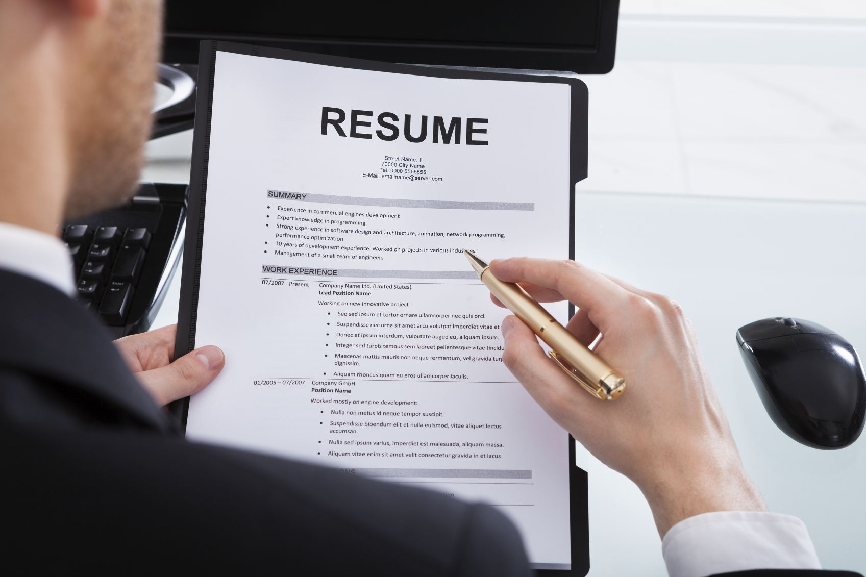 to include bullet points in resume for writing medium web developer project description Resume Points For Resume Writing