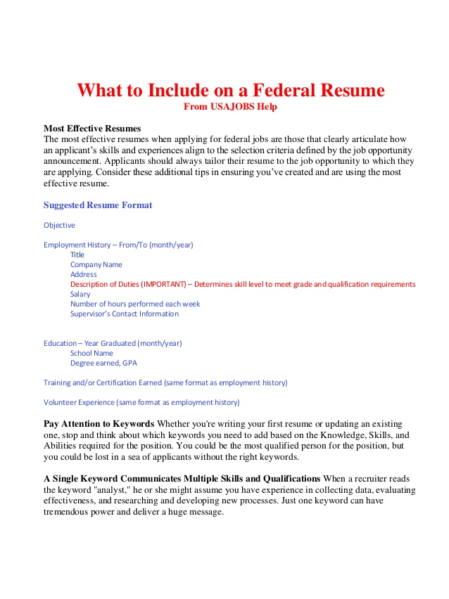 to include on federal resume bop with one job history customer service representative Resume Resume With One Job History