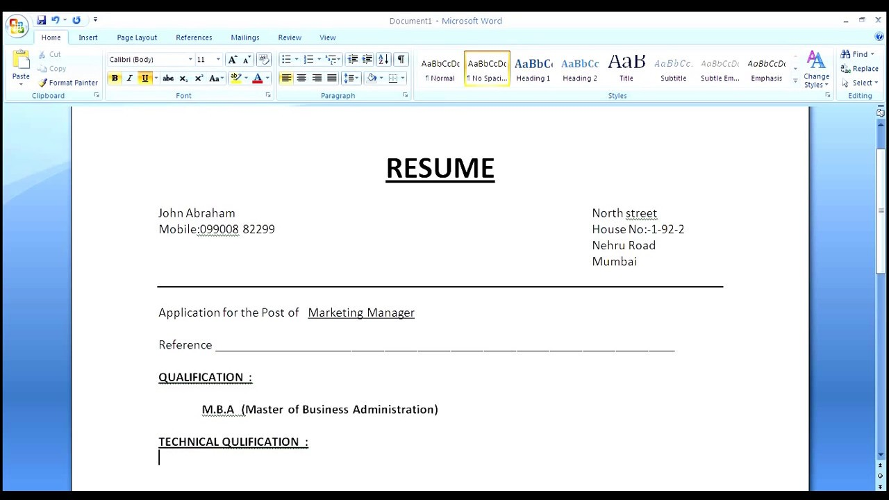 to make simple resume cover letter with format copy job description into template for Resume Simple Resume Letter Format