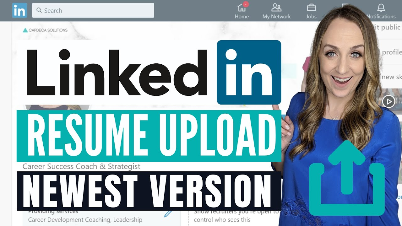 to upload resume on linkedin latest version best for college students military job Resume Linkedin Upload Resume 2020