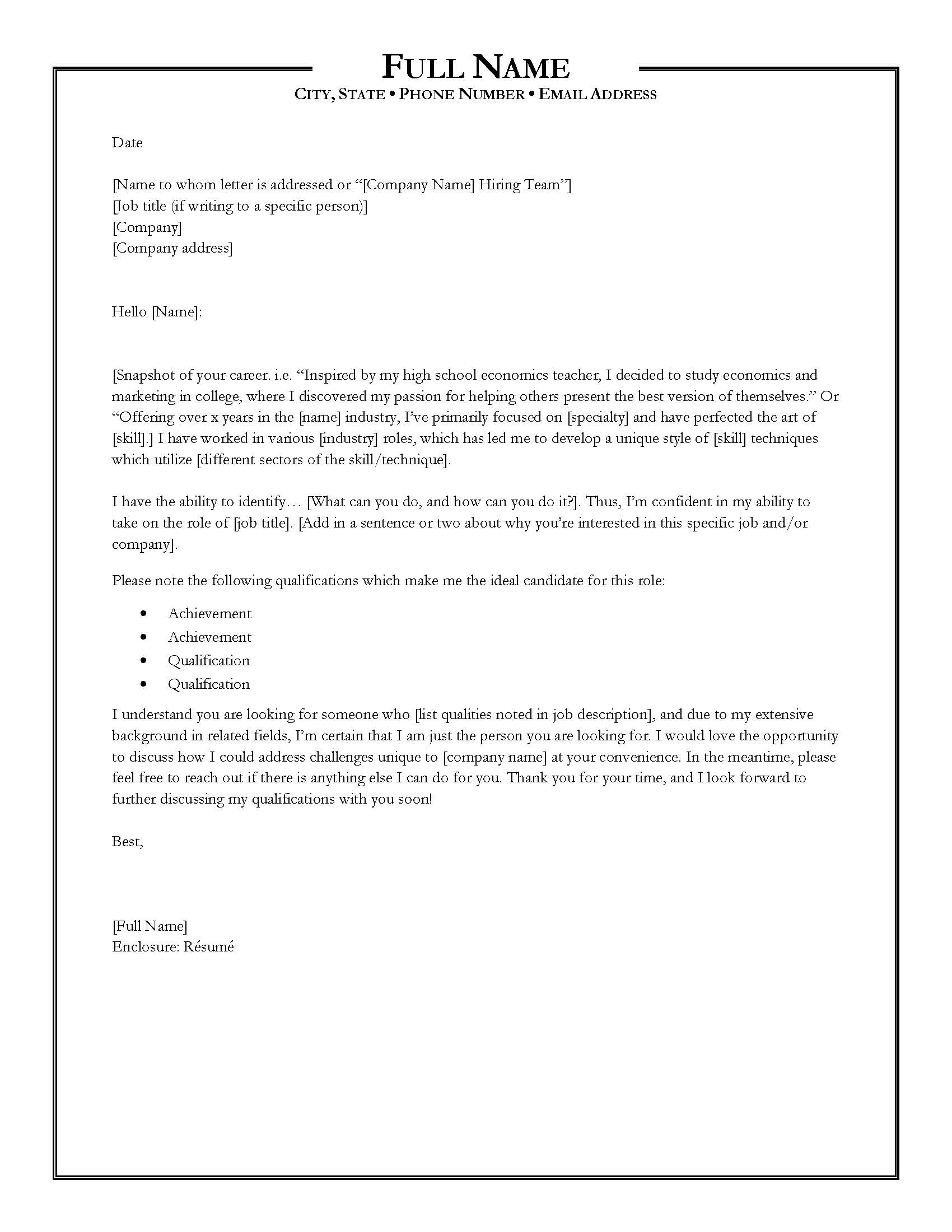 to write killer cover letter and you should always include one styles with resume Resume Should You Always Include A Cover Letter With Resume