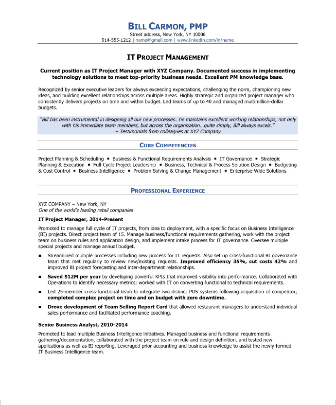 to write project manager resume blog blue sky resumes format for experienced examples of Resume Resume Format For Experienced Project Manager