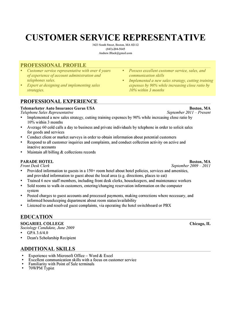 to write resume profile examples writing guide rg points for professional bullet form1 Resume Points For Resume Writing