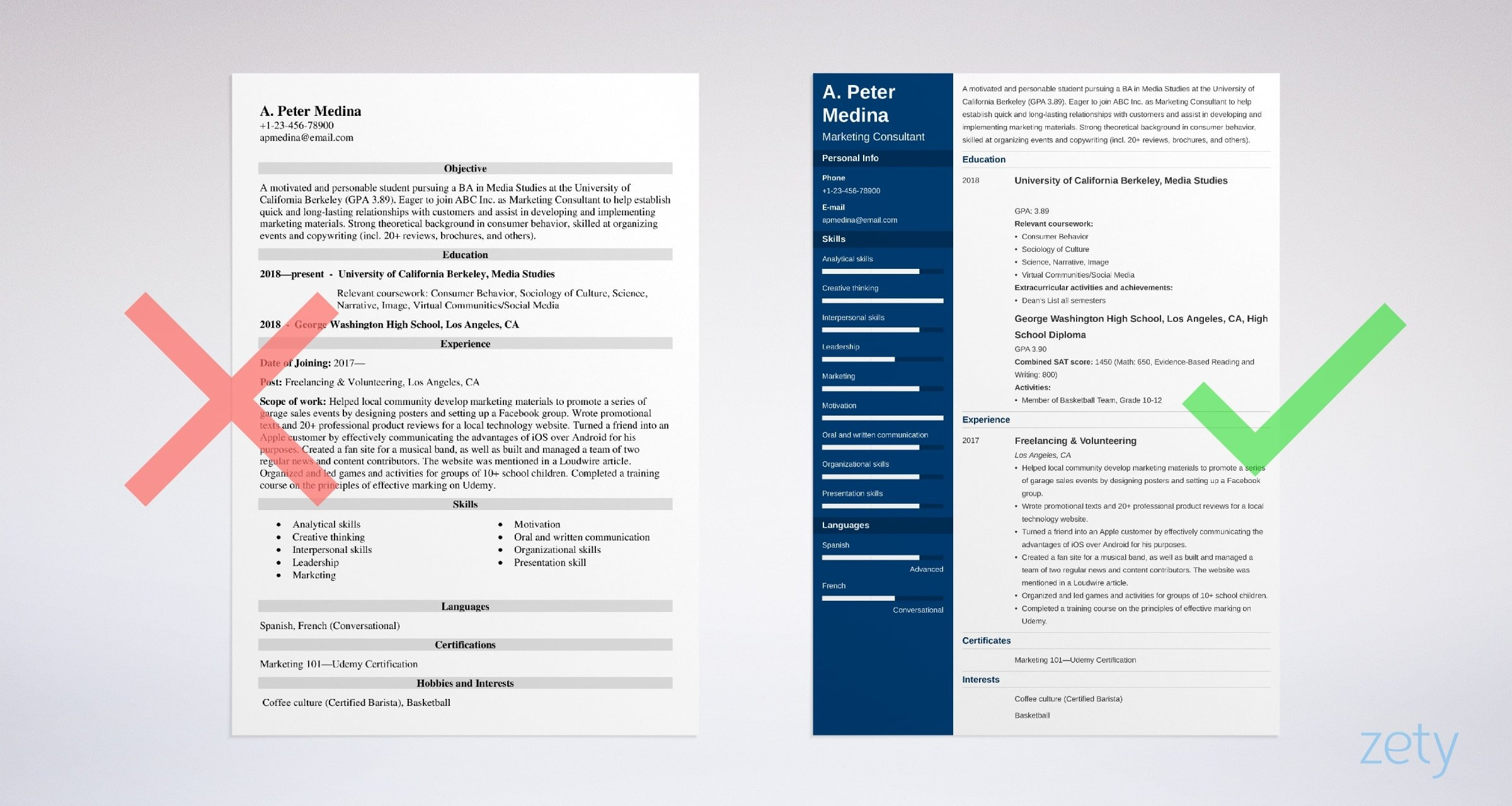 to write resume with no experience get the first job without work transfer student Resume Resume Without Experience
