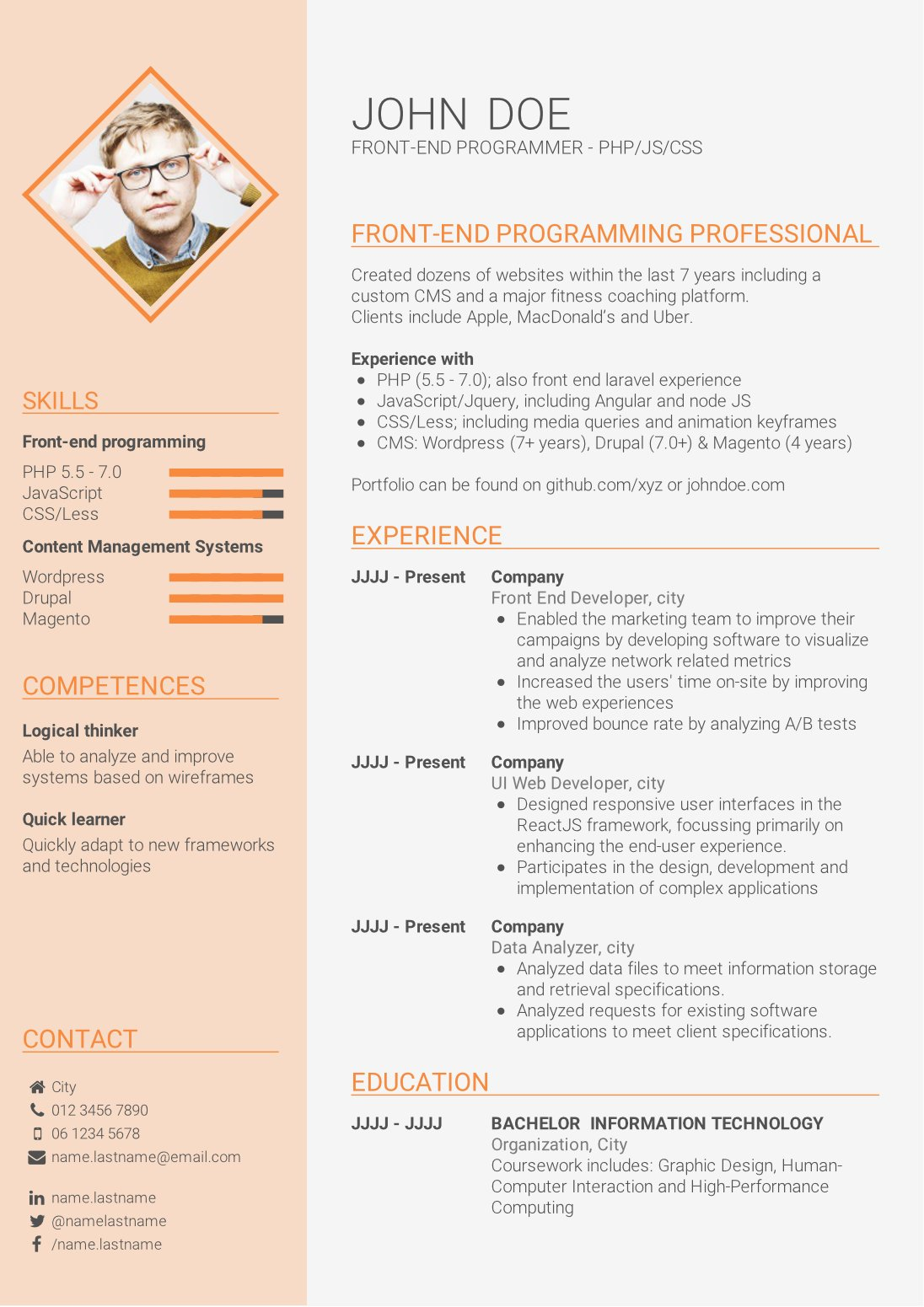 to write strong cv without work experience template for graduates resume non graduate Resume Resume For Non Graduate