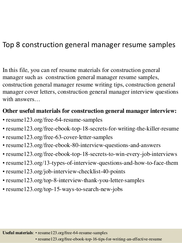 top construction general manager resume samples correctional case assistant principal Resume Correctional Case Manager Resume