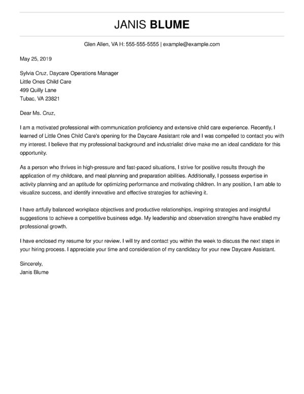 top cover letter templates get hired livecareer professional resume and template janis Resume Professional Resume And Cover Letter Template
