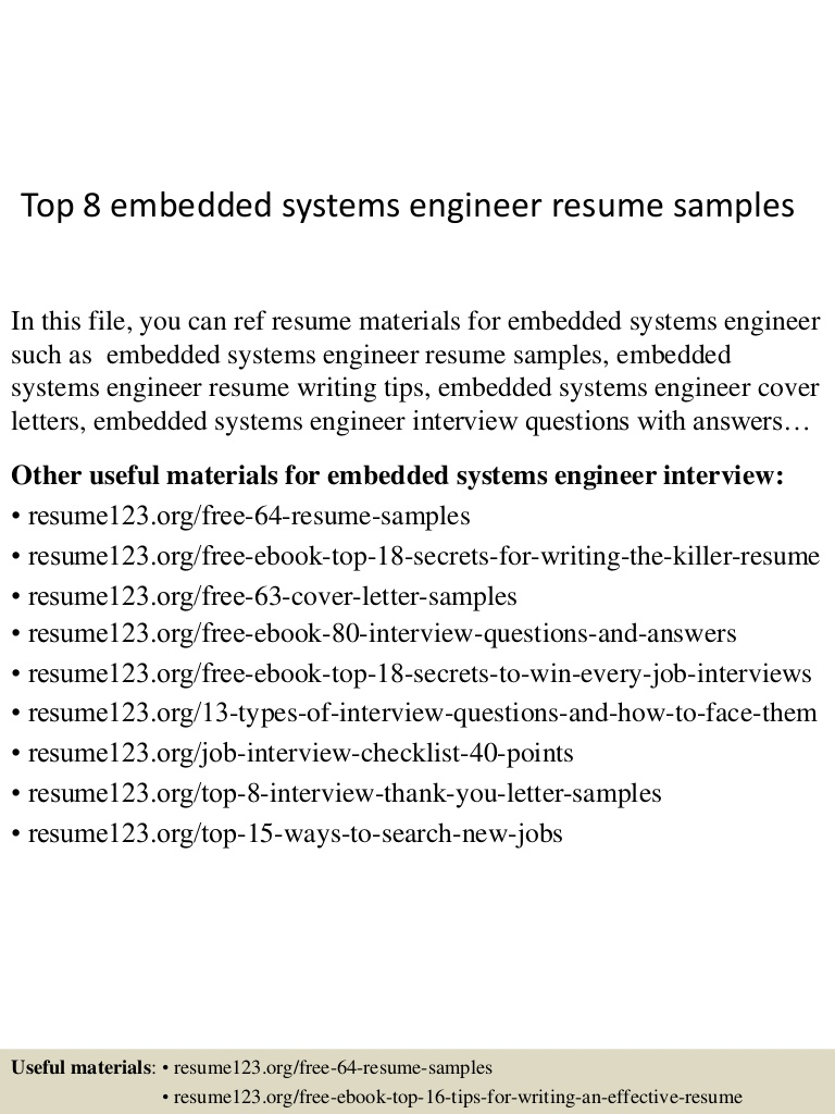 top embedded systems engineer resume samples headline for software Resume Resume Headline For Embedded Software Engineer