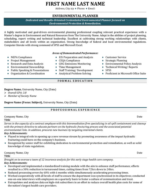 top environmental resume templates samples consultant ev planner protection sample sin Resume Environmental Consultant Resume