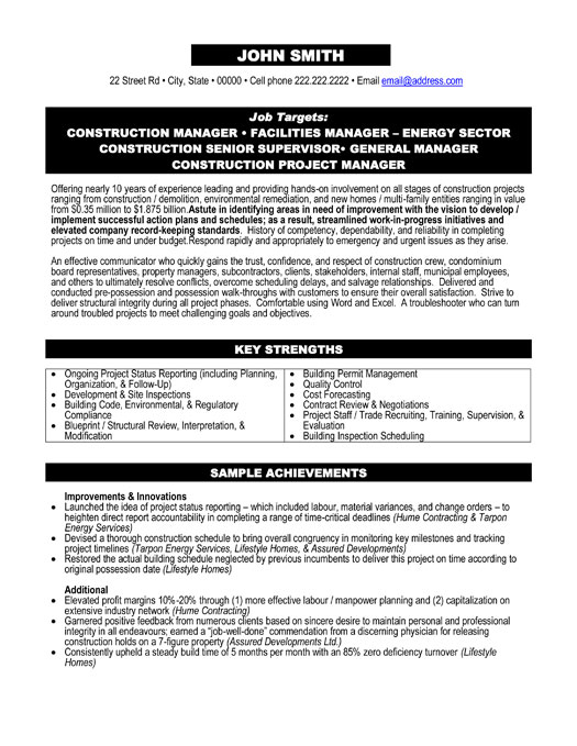 top environmental resume templates samples manager examples executive construction Resume Environmental Manager Resume Examples