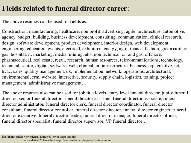 top funeral director cover letter samples home administrative assistant resume legal Resume Funeral Home Administrative Assistant Resume